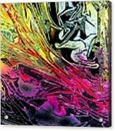 Liquid Decalcomaniac Desires 1 Acrylic Print