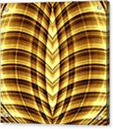 Liquid Gold 3 Acrylic Print