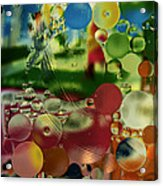 Liquid Marbles Two Acrylic Print