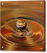 Liquid Orb Acrylic Print