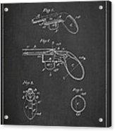 Liquid Pistol Patent Acrylic Print