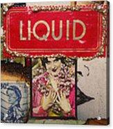 Liquid  Acrylic Print