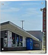 Liquor Store And Sign  Acrylic Print