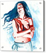 Lisa Acrylic Print