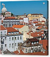 Lisbon Alfama District Acrylic Print