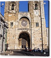 Lisbon Cathedral In Portugal Acrylic Print