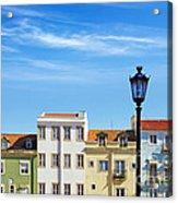Lisbon Houses Acrylic Print