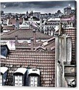 Lisbon Rooftops I Acrylic Print