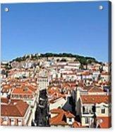 Lisbon Skyline Acrylic Print