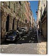Lisbon Street Acrylic Print