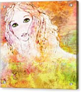 Listen To The Colour Of Your Dreams Acrylic Print