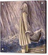 Listen To The Rhythm Of The Falling Rain.. Acrylic Print
