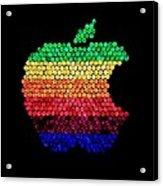 Lite Brite Macintosh Acrylic Print