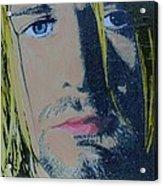 Literally Kurt Cobain Acrylic Print