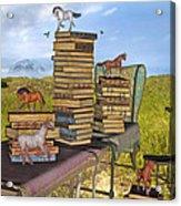 Literary Levels Acrylic Print