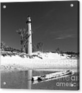 Litle Sable Light Station - Film Scan Acrylic Print