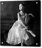 Little Ballet Star Acrylic Print