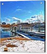 Little Beach Cove Acrylic Print