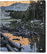 Little Bear Peak Reflection Acrylic Print