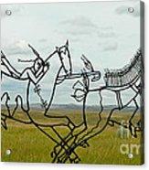 Little Bighorn Battlefield Acrylic Print