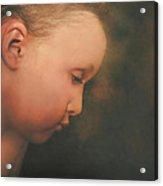 Little Boy Dreams Acrylic Print