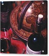 Little Break Fine Red Wine Acrylic Print