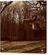 Little Brown Shed Acrylic Print