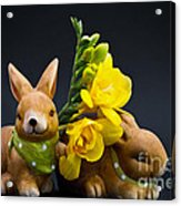 Little Bunny Acrylic Print