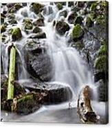 Little Cascade In Marlay Park Dublin Acrylic Print