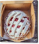 Little Cherry Pie Acrylic Print