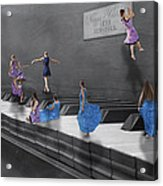 Little Composers I Acrylic Print by Betsy Knapp