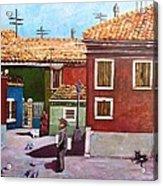 Little Corner Of Venice Acrylic Print