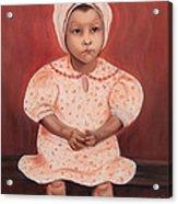 Little Cottonpicker  Acrylic Print