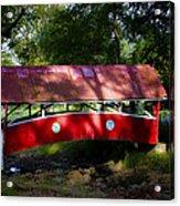 Little Covered Bridge Acrylic Print