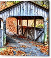 Little Covered Bridge II Acrylic Print