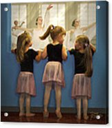 Little Dancing Dreamers Acrylic Print by Doug Kreuger