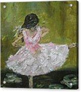 Little Dansarina Acrylic Print