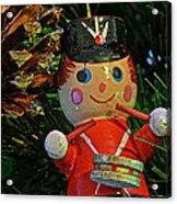 Little Drummer Boy Ornament Acrylic Print