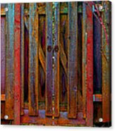 Little Gate Acrylic Print