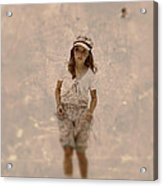 Little Giril Acrylic Print