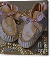 Little Girls To Pearls Acrylic Print
