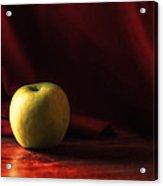 Little Green Apple Acrylic Print