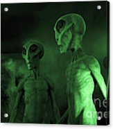 Aliens And Ufo 6 Acrylic Print