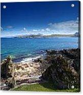Little Gruinard Bay In The Scottish Highlands Acrylic Print
