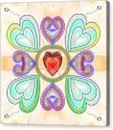 Little Hearts-2 Acrylic Print