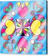Little Hearts-5 Acrylic Print