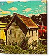 Little House - The World Around New York City Acrylic Print
