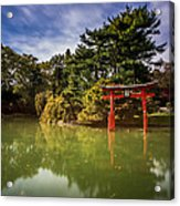Little Japan Acrylic Print