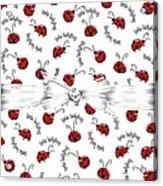 Little Ladybug Treats Acrylic Print