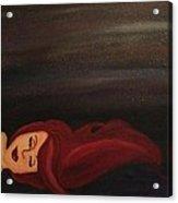 Little Mermaid Acrylic Print by Oasis Tone